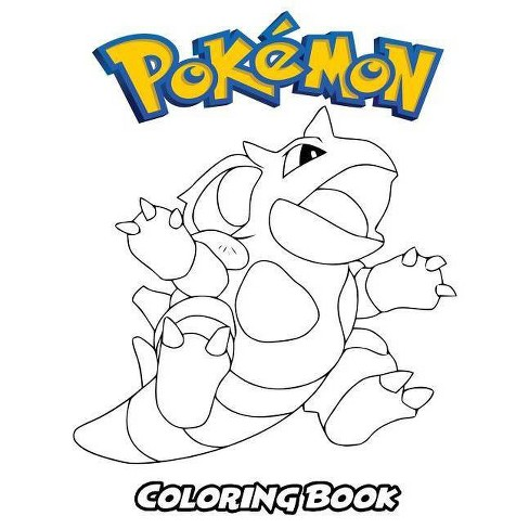 Pokemon Coloring Book - by  Alexa Ivazewa (Paperback) - image 1 of 1