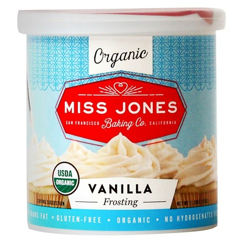 Miss Jones Baking Co. Organic Vanilla Frosting - 11.28oz - image 1 of 4