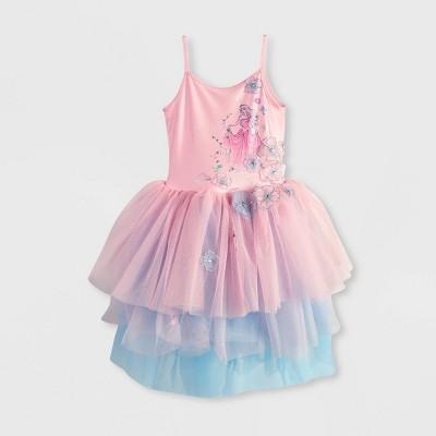 Girls' Disney Sleeping Beauty Aurora Tutu Dress - Pink - Disney Store