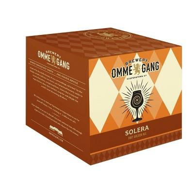 Ommegang Solera Tart Golden Ale Beer - 4pk/12 fl oz Cans