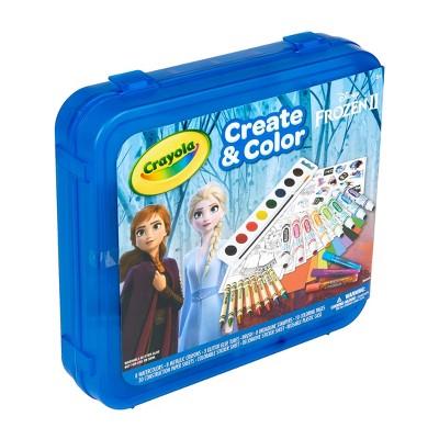 Crayola Disney Frozen 2 Create & Color Case