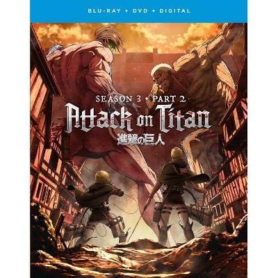 Attack on Titan The Movie: Season 3, Part 2 (Blu-ray + DVD + Digital)