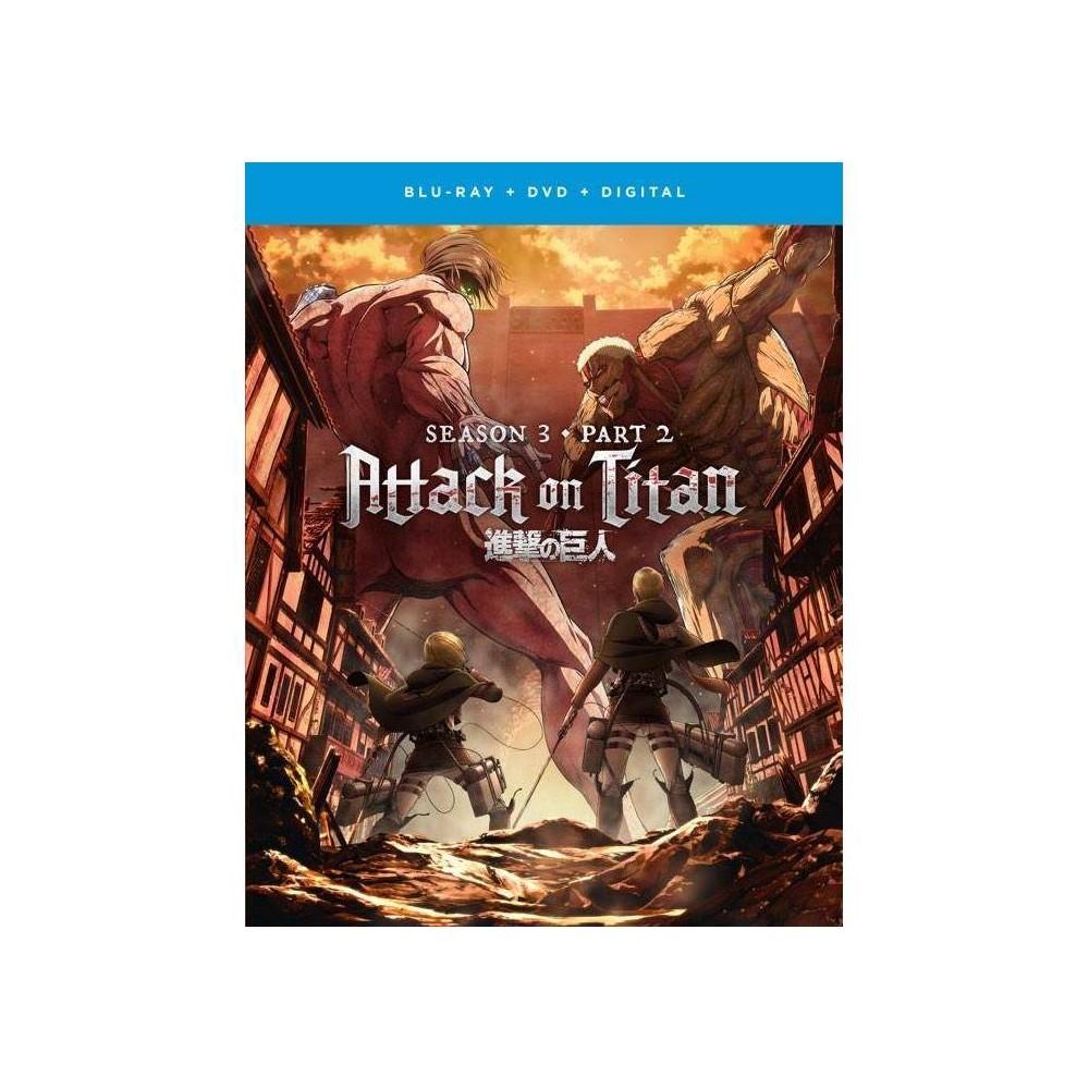 Attack On Titan The Movie Season 3 Part 2 Blu Ray Dvd Digital