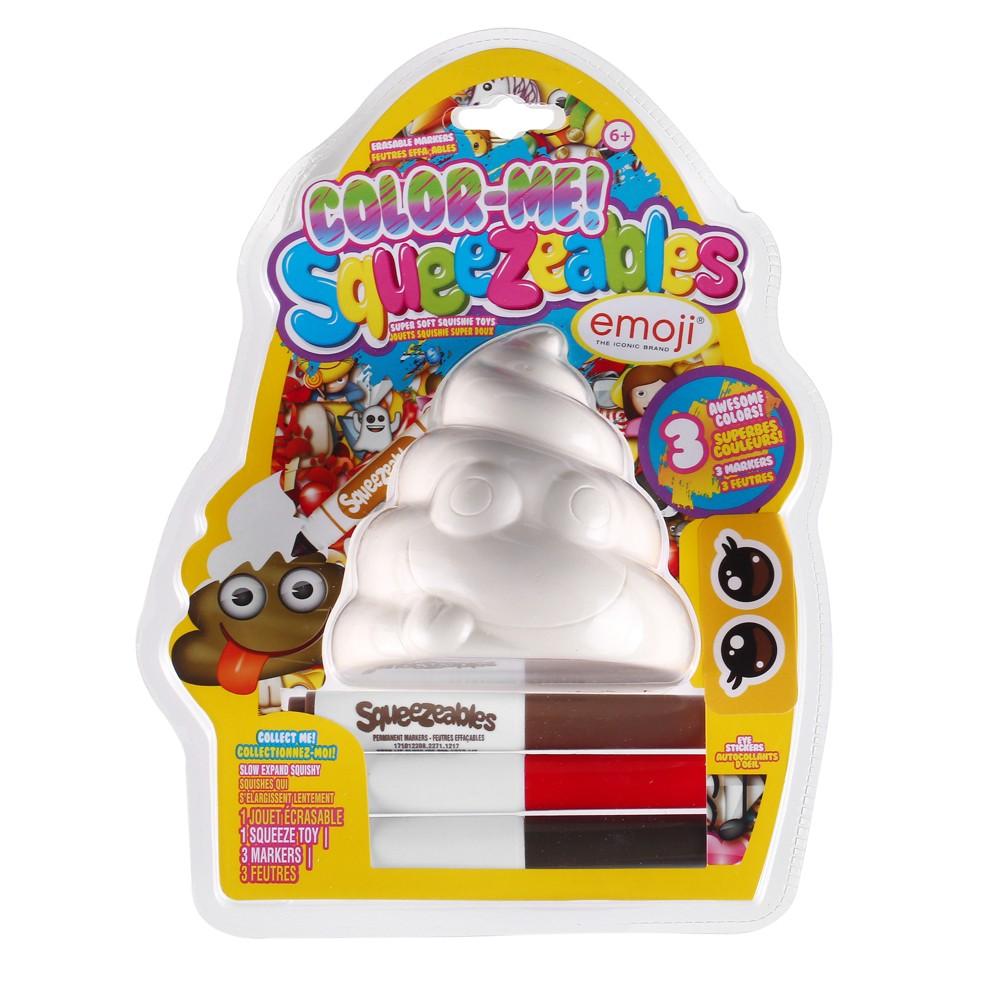 Color Me! Squeezables Emoji Activity Kit