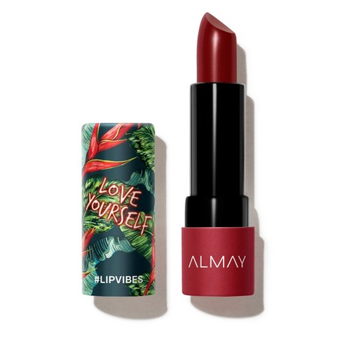 Almay Lip Vibes Lipstick With Vitamin E, Vitamin C And Shea Butter - 0.14oz - image 1 of 3