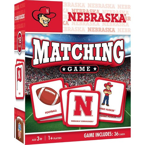 NCAA Nebraska Cornhuskers Matching Game - image 1 of 2