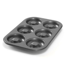Nordic Ware Silver Donut Pan