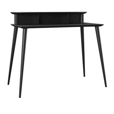 Tolland Desk with Riser Black - Room & Joy