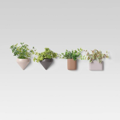 Set of 4 Succulent Wall Planters - Project 62™