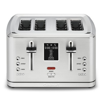 Cuisinart 4 Slice Digital Toaster w/ MemorySet Feature - Stainless Steel - CPT-740