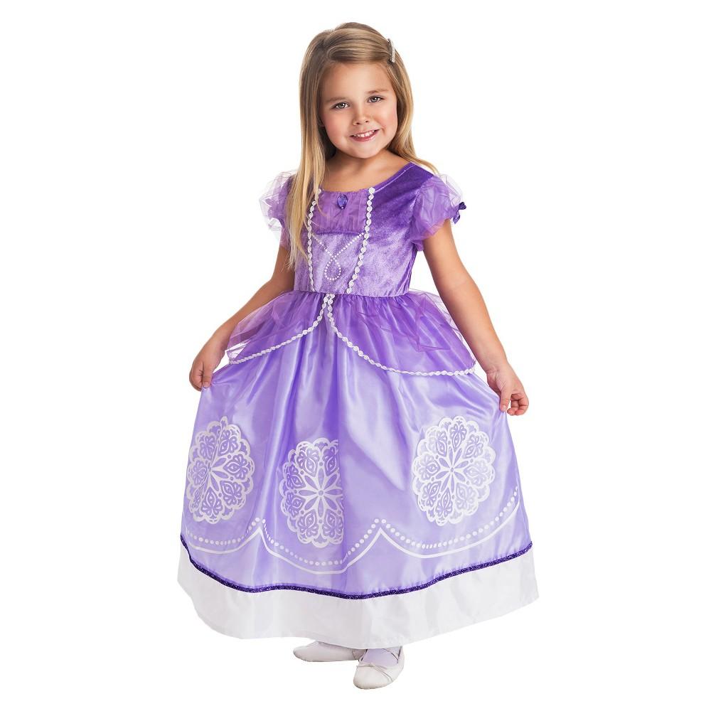 Little Adventures Amulet Princess Dress, Size: Large, Purple
