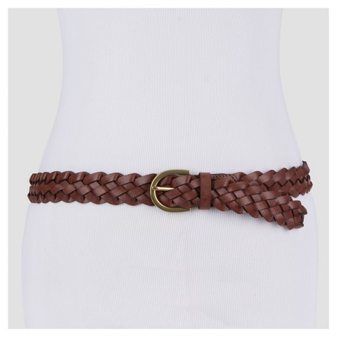 d62654ebf Women s Plus Size Braid Belt - Ava   Viv™   Target