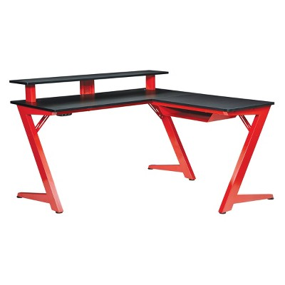 Avatar Battlestation L Shaped Gaming Desk - OSP Home Furnishings
