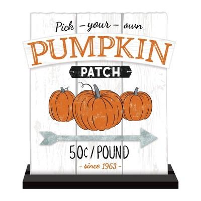 Pumpkin Patch Halloween Standing Sign