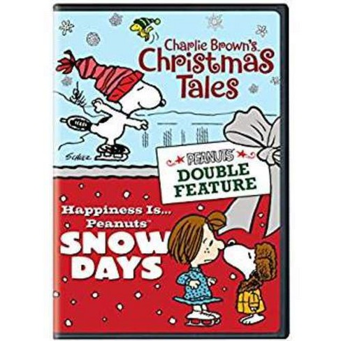 Charlie Brown's Christmas Tales/Happiness is Peanuts Snow Days (DVD) - image 1 of 1