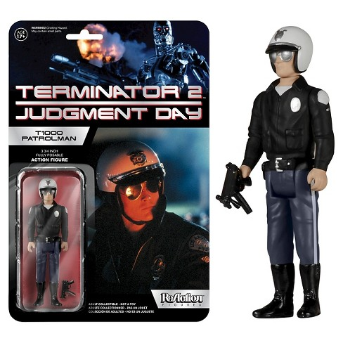 Reaction: Terminator 2 - T1000 Motorcycle Cop - image 1 of 1