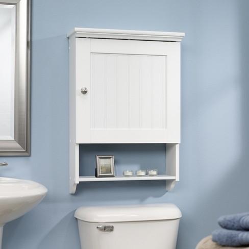 Decorative Wall Shelf White - Sauder - image 1 of 1
