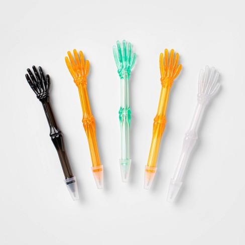 "5ct Skeleton Hand Pen (6"") Halloween Party Favors - Hyde & EEK! Boutique™ - image 1 of 1"