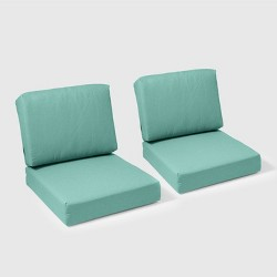 Fullerton 2pc Outdoor Deep Seating Cushion Set - Threshold™