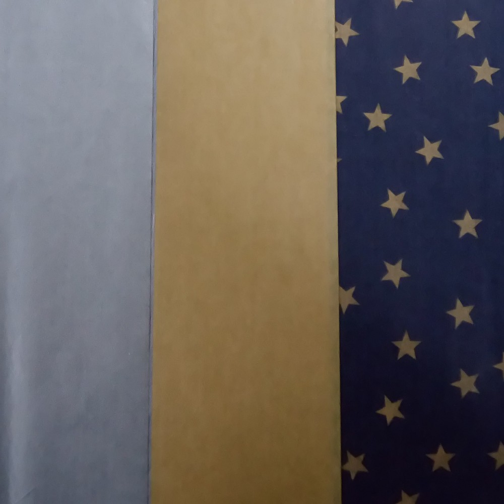 30ct Tissue Paper Silver/ Gold/ Star Print - Wondershop, Multi-Colored