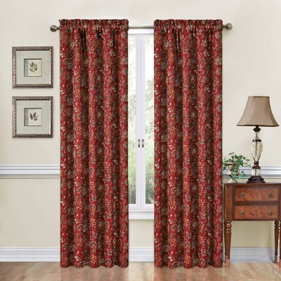 "84""x52"" Window Curtain Panel - Traditions by Waverly"