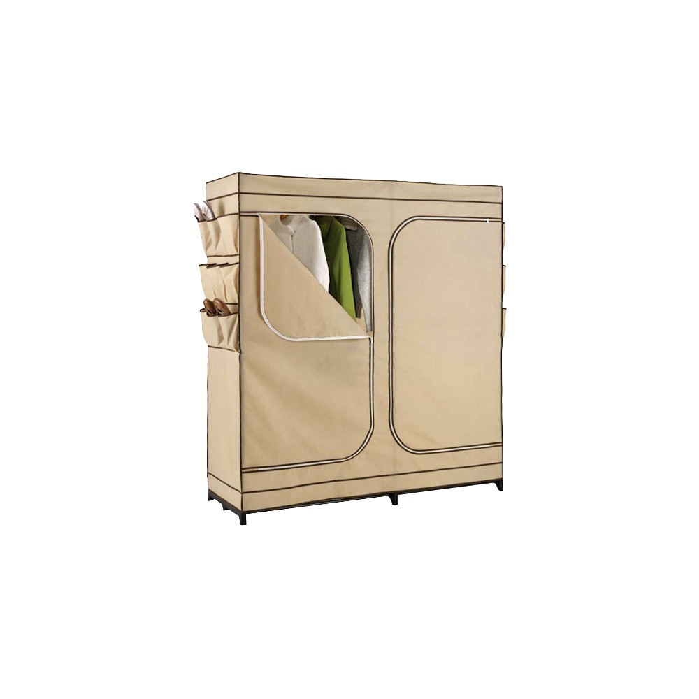 "Image of ""60"""" Double Door Portable Storage Closet"""