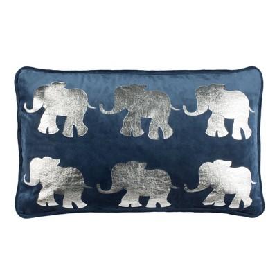 Talin Elephant Pillow  - Safavieh