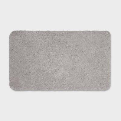 "20""x34"" Performance Nylon Bath Rug Gray - Threshold™"