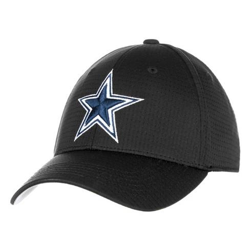 NFL Men s Dallas Cowboys Gray Woodley Flex Fit Hat   Target cdc2ac262e26