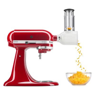 KitchenAid Refurbished Fresh Prep Slicer/Shredder Attachment - White RKSMVSA