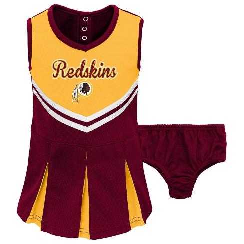 NFL Washington Redskins Infant  Toddler In The Spirit Cheer Set   Target 46d678737
