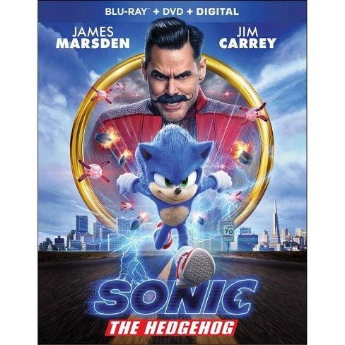 Sonic The Hedgehog Blu Ray Target