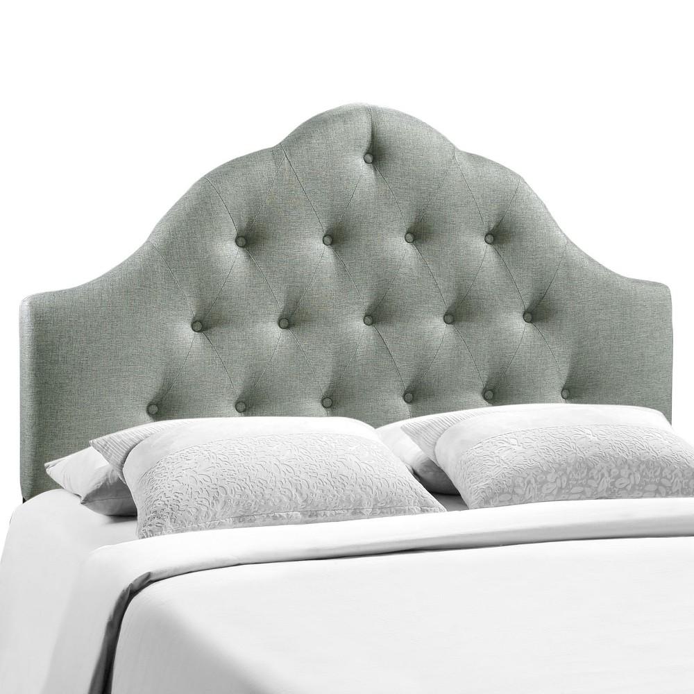 Sovereign Full Upholstered Fabric Headboard Gray - Modway