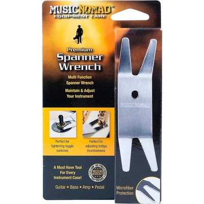 Music Nomad Premium Spanner Wrench With Microfiber