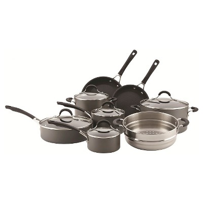 Circulon Innovatum Hard Anodized Nonstick 13 piece Cookware Set