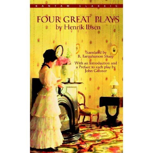 Four Great Plays by Henrik Ibsen - (Bantam Classics) (Paperback) - image 1 of 1