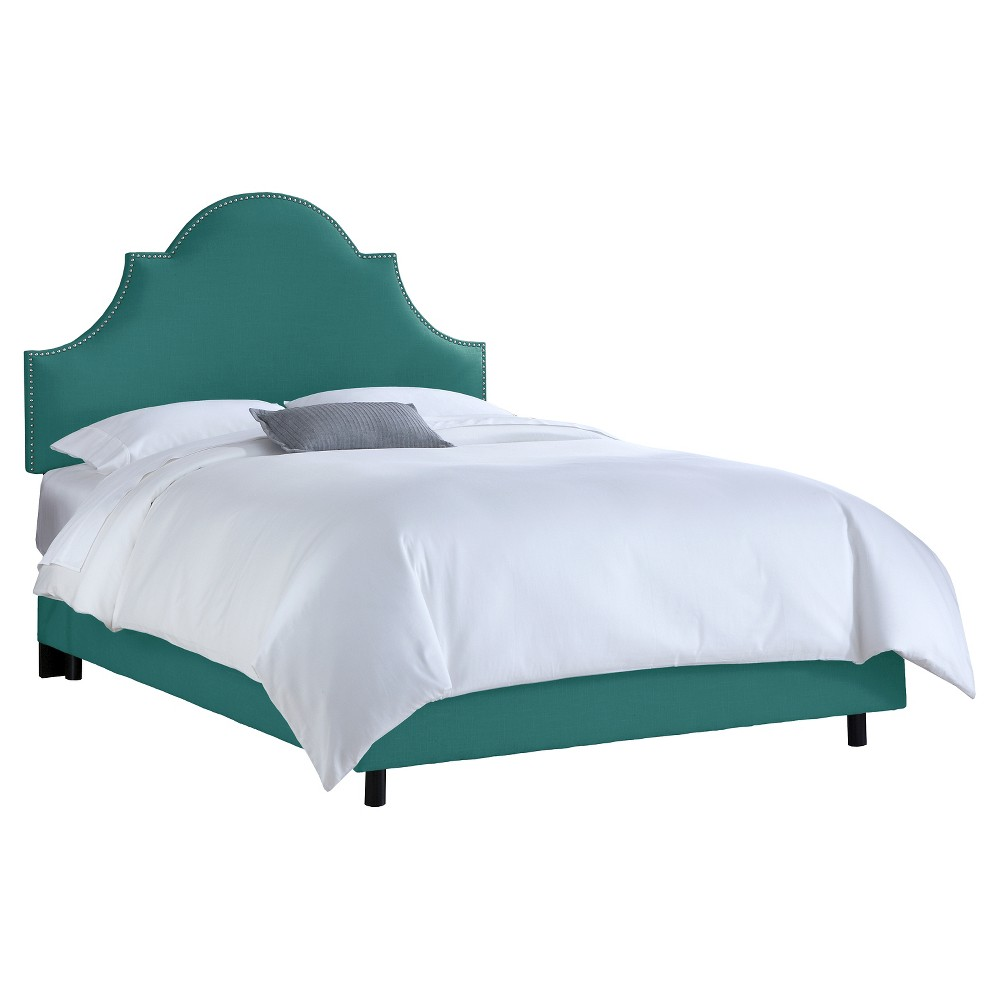 Chambers Bed - Linen Laguna (Full) - Skyline Furniture