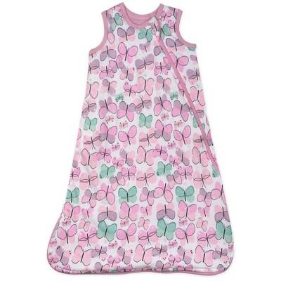 Honest Baby Organic Cotton Jersey Fill Wearable Blanket - All Seasons - Flutter M
