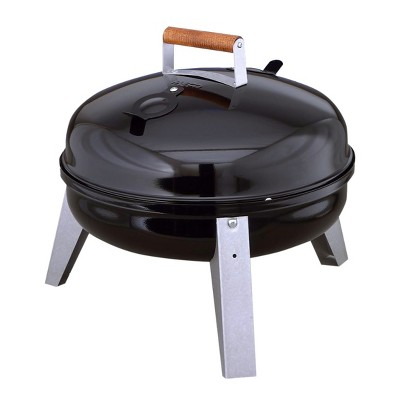 Americana The Wherever Grill - Dual-Fuel Electric and Charcoal Model 2130.4.111 - Black - Meco