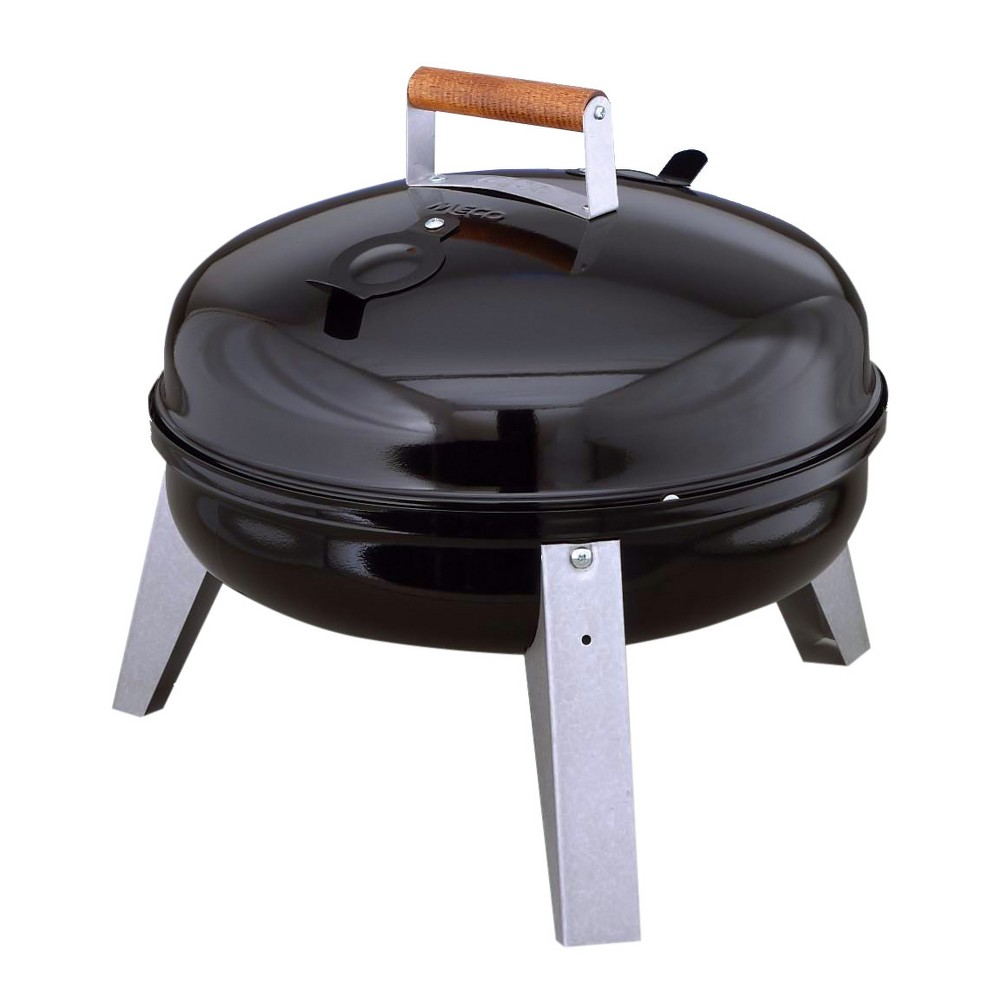 Image of Americana The Wherever Grill - Dual-Fuel Electric and Charcoal Model 2130.4.111 - Black - Meco