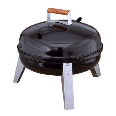Americana The Wherever Grill - Dual-Fuel Electric and Charcoal Model 2130.4.111 - Black - Meco - image 1 of 4