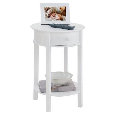 Good Grantsville Round Accent Table   White   Room U0026 Joy : Target