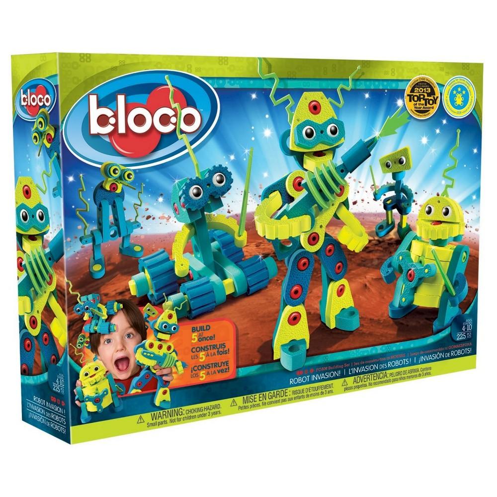Bloco Toys Robot Invasion Foam Construction Set