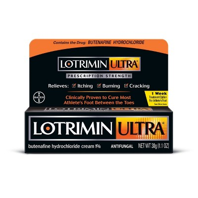 Lotrimin Ultra Antifungal Athlete's Foot Cream  - 1.1oz