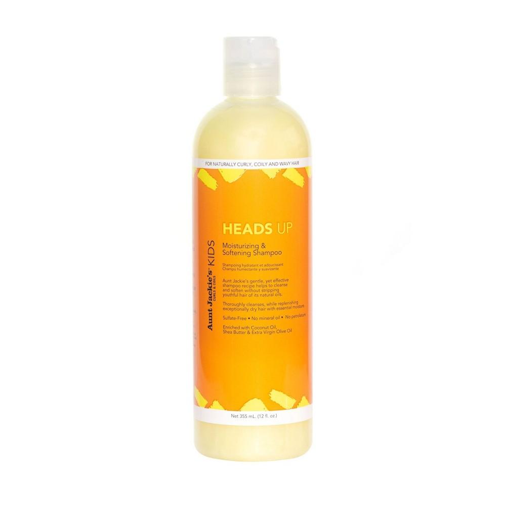 Image of Aunt Jackie's Kids Heads Up Moisturizing & Softening Shampoo - 12 fl oz