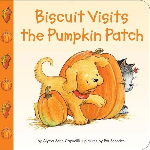 Biscuit Visits the Pumpkin Patch - by  Alyssa Satin Capucilli (Board_book) - image 1 of 1