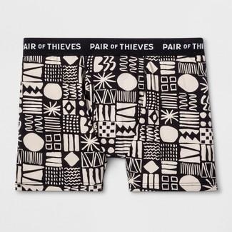Pair of Thieves Men's SS Cowabunga Boxer Briefs - Cream L