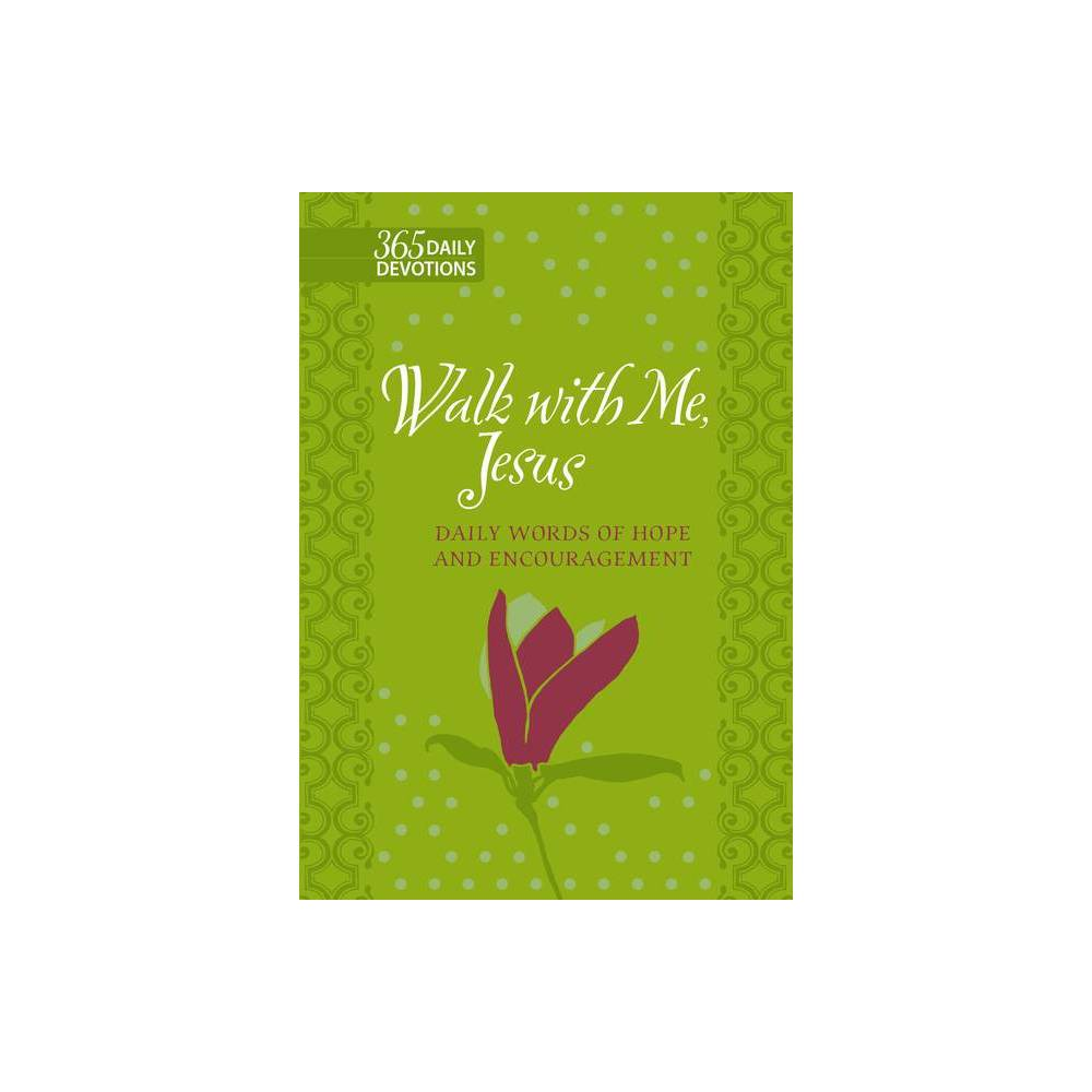 Walk With Me Jesus By Marie Chapian Leather Bound