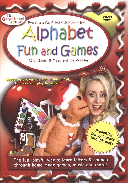 Gingerbread house alphabet fun and (DVD) - image 1 of 1