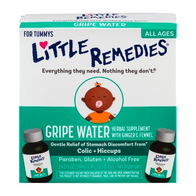 Little Remedies Little Tummys Gripe Water 2-pk.